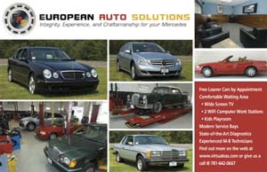 Direct mail Postcard - automotive shop