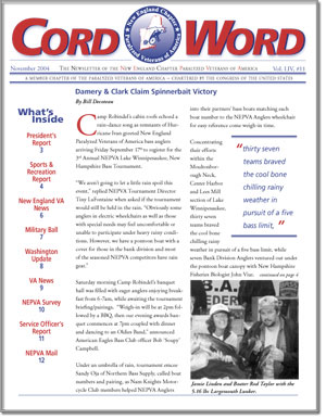 NEPVA Cord Word monthly newsletter